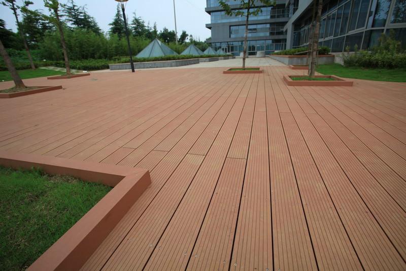 塑木地板、木塑地板、复合木地...