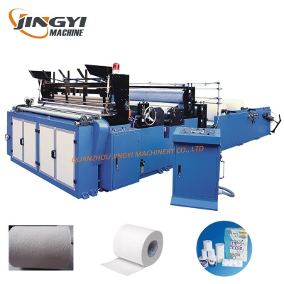 New Design Full-Automatic Toilet Tissue Paper Making Machine for Sale