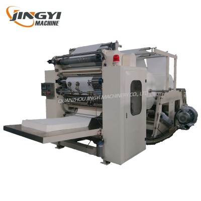 Automatic Small Facial Tissue Paper Rolling Making Machine