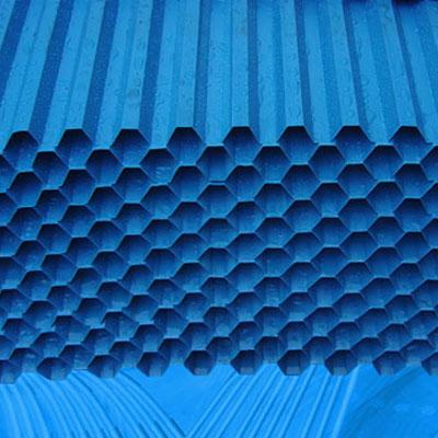 pvc(聚氯乙烯)蜂窩斜管填料