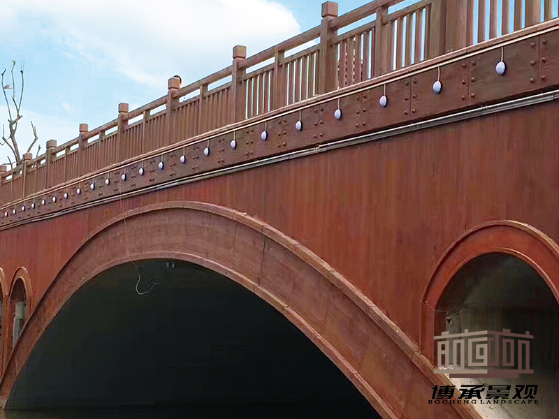 湖南常德白马桥--整桥桥梁装饰
