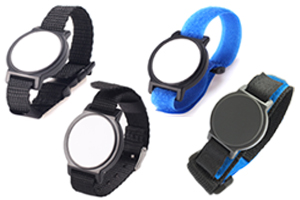 RFID Nylon Band Wristbands