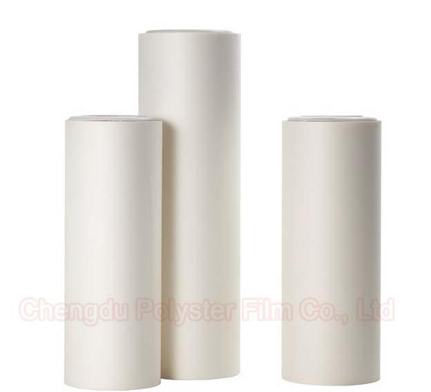 White Flame Retardant Polypropylene Film Roll