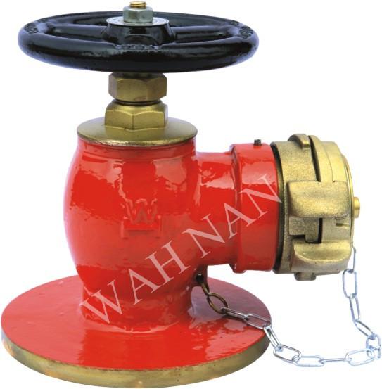 WH045直角法蘭消火栓