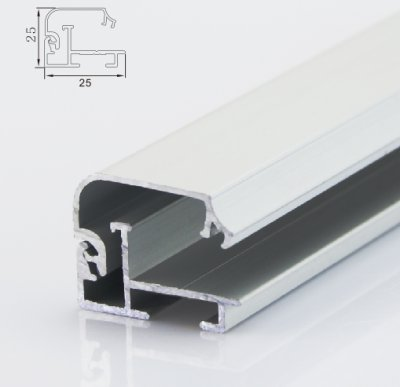 20mm corner open light box profile