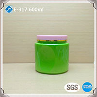 500ml 16oz pet plastic jars
