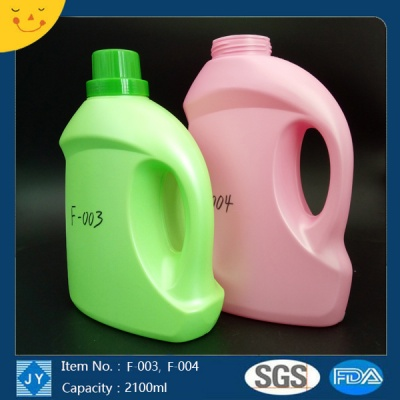 2.1L HDPE Bottle Customized Color Beauty Container