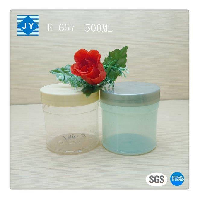 500ml 16oz Pet Plastic Jar