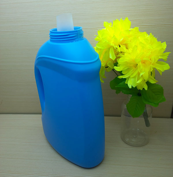 2L HDPE fancy laundry liquid detergent softener bottle