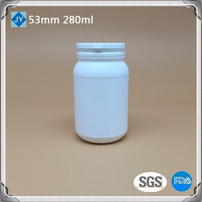 280cc custom plastic bottle 300ml 10oz HDPE round plastic bottel