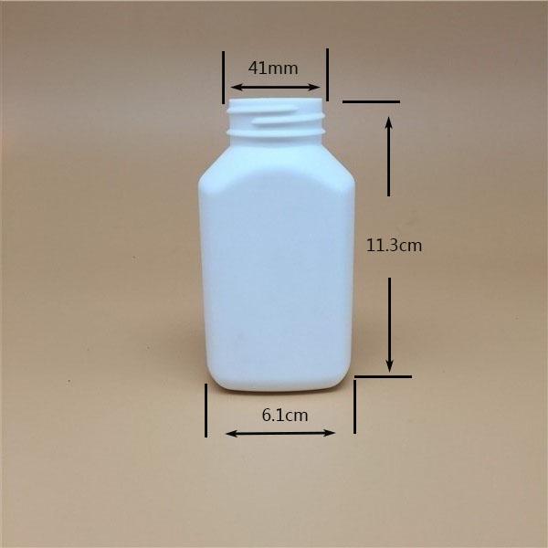 200cc pharmaceutical used bottle 6oz HDPE round plastic bottle for pills