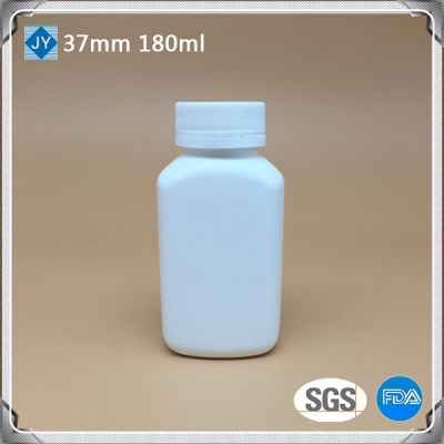 180cc pharmaceutical used bottle 6oz HDPE round plastic bottle for pills