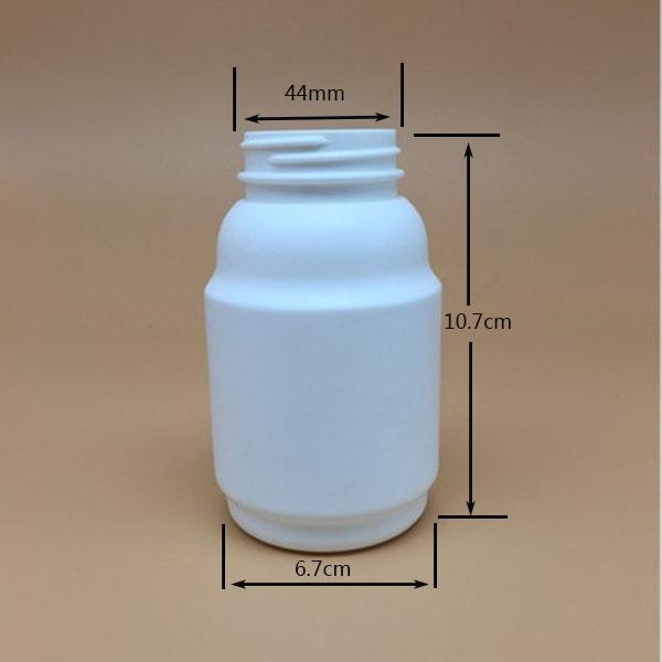 260cc pharmaceutical used bottle 260ml 9oz HDPE round plastic bottel