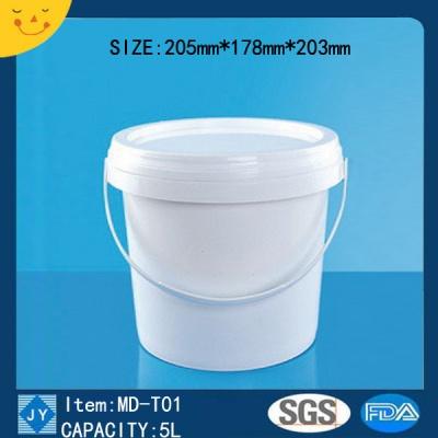 5L Plastic bucket