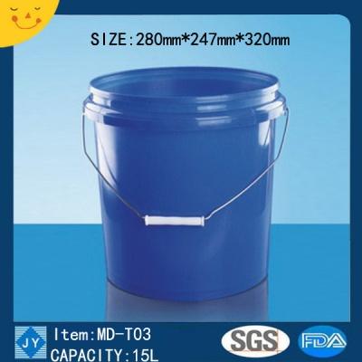 15L Plastic bucket