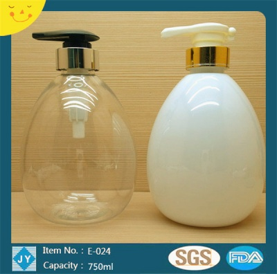 750ml 25oz large colorful egg shaped plastic bottles