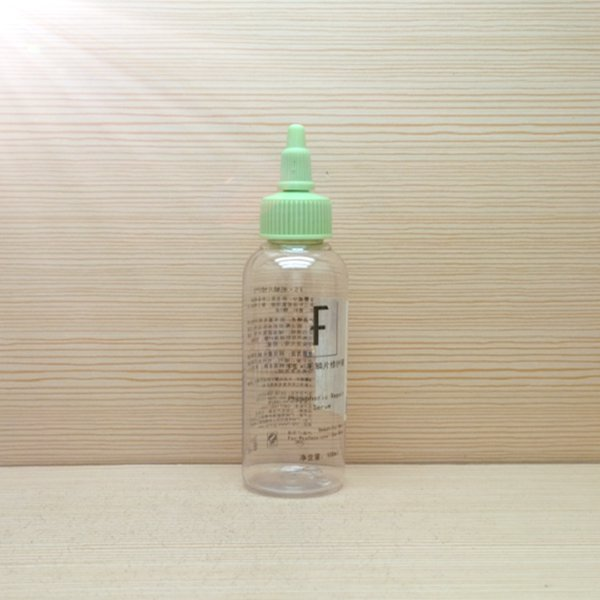 100ml 3oz clear round mini bottles