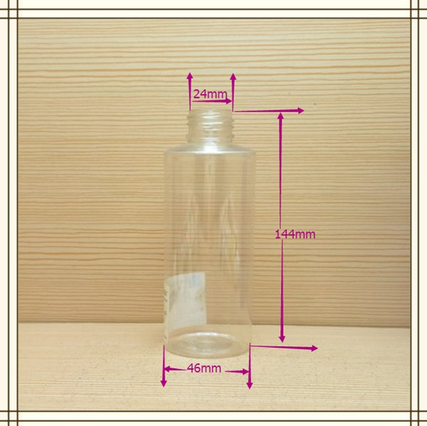 150ml 5oz small new design round plastic bottle