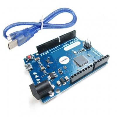 Leonardo R3 ATmega32U4 Compatible for Arduino Leonardo with Headers for Arduino within Cable