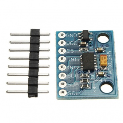 GY-291 ADXL345 3-Axis Digital Acceleration of Gravity Tilt Module for Arduino IIC/SPI Transmission