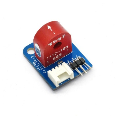 Analog Current Meter Sensor Module AC 0~5A Ammeter Sensor Board Based on TA12-100 for Arduino