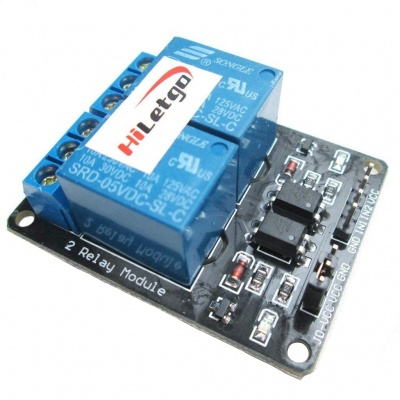5V 2 Channel Relay Module Relay Expansion Board With OPTO Protection for Arduino