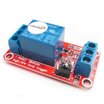 5V 1 Channel Relay Module With optocoupler Support High or Low Level Trigger