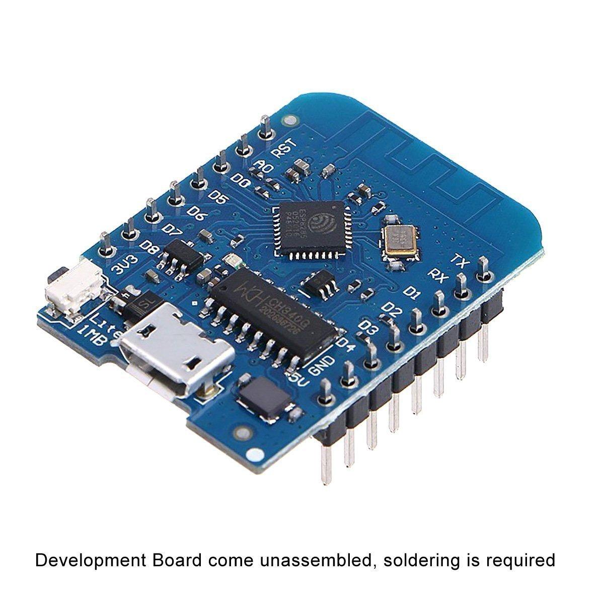 Wemos D1 Mini ESP8285 V1.0.0 1MB Flash Lite Wireless WiFi Internet Development Board