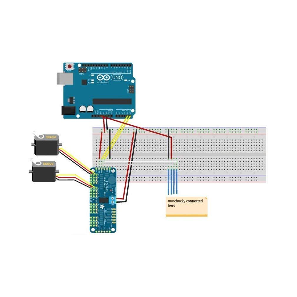 PCA9685 16 Channel 12-Bit PWM Servo Motor Driver IIC Module For Arduino Robot
