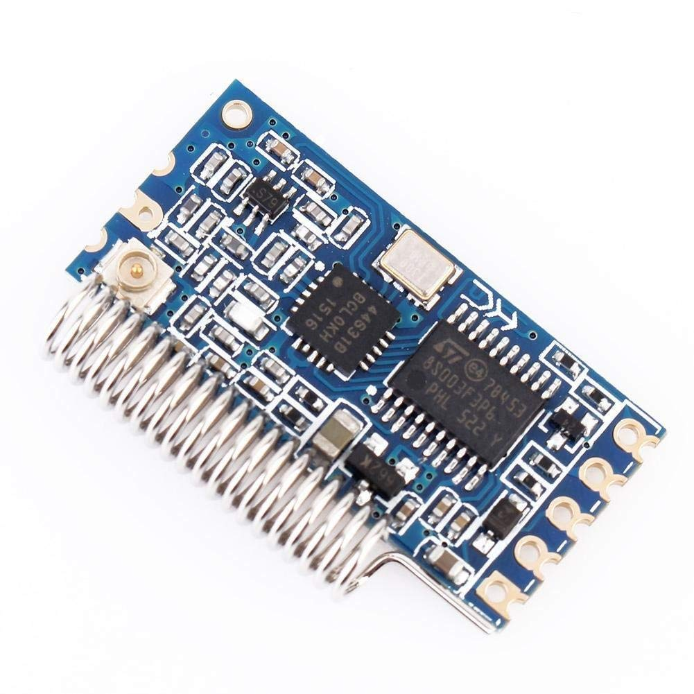 433Mhz SI4463 Wireless Module Serial Port 1000M HC-12 Replace Bluetooth Antenna
