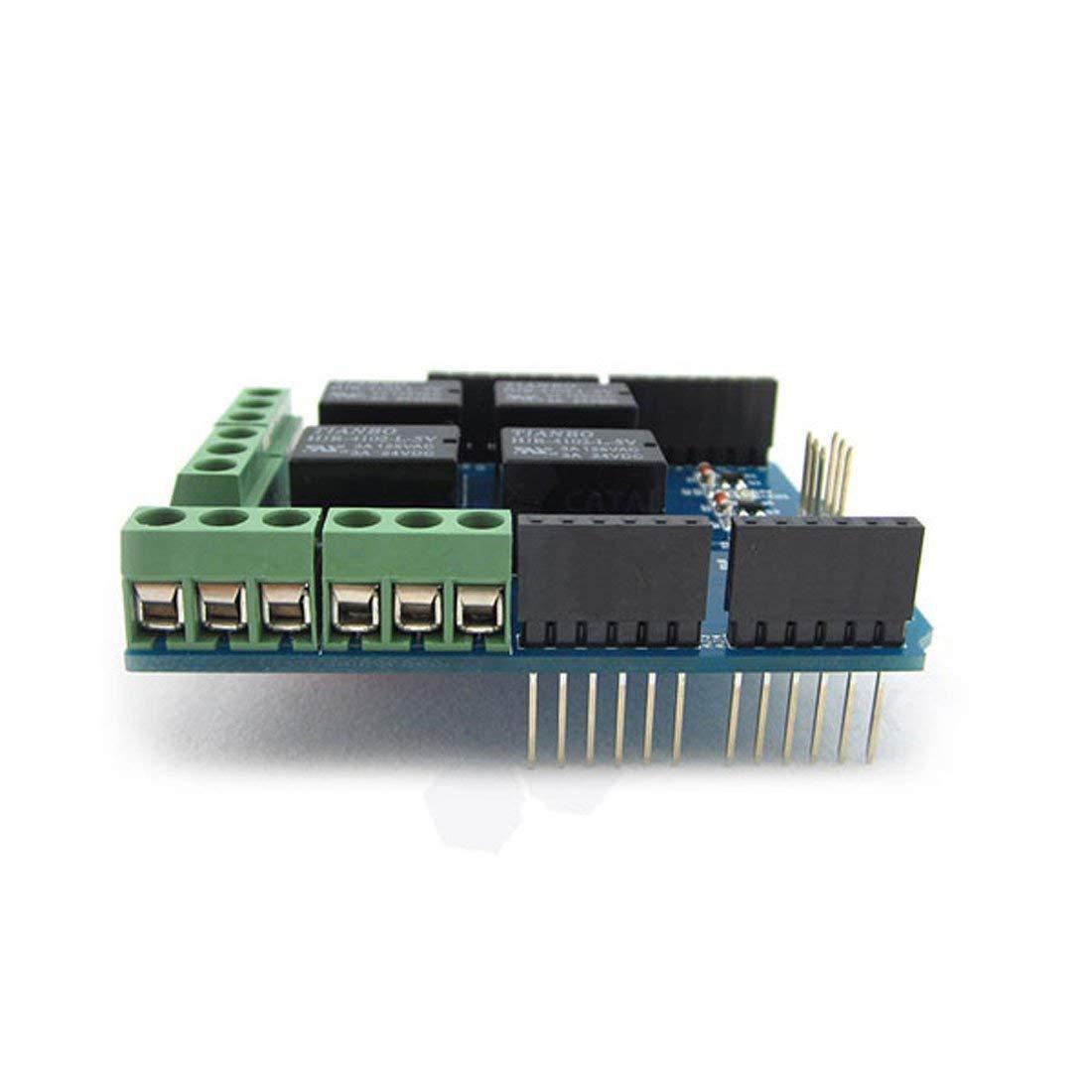 Relay Shield 5V 4 Channel Arduino UNO R3 Relay Shield Arduino Shield