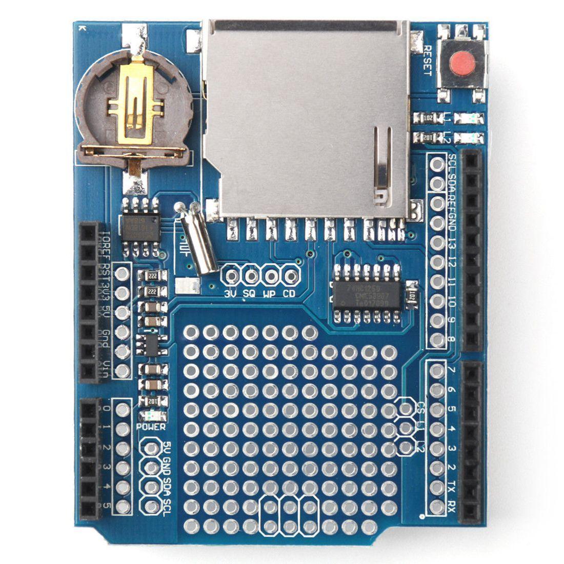 Mini Logging Recorder Data Logger Module Shield V1.0 For Arduino UNO SD Card