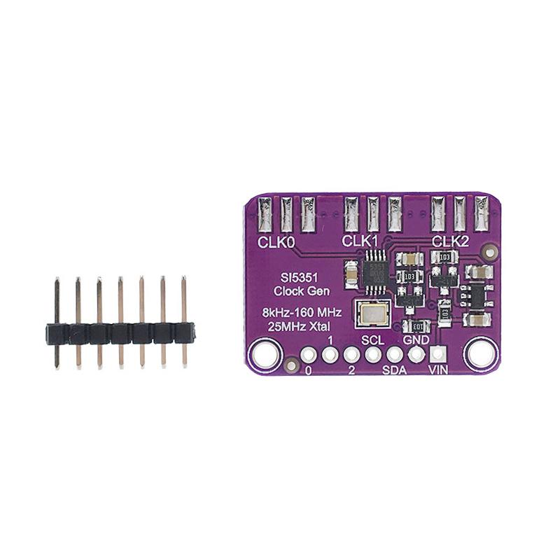 Si5351A Clock Generator Breakout Board arduino Clock Generator Module Clock Generate 8KHz to 160MHz