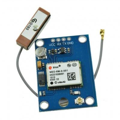 HiLetgo GY-NEO6MV2 NEO-6M GPS Flight Control Module With EEPROM MWC APM2.5 Ceramic Antenna