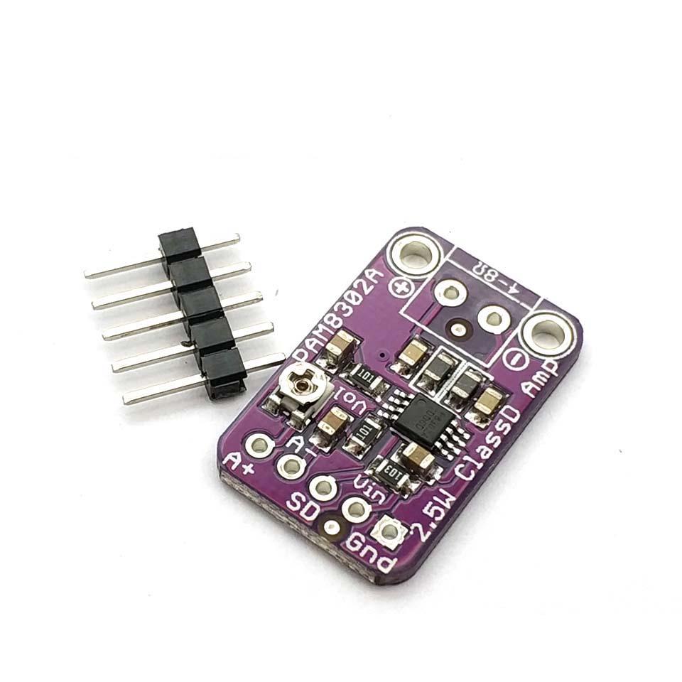 PAM8302 2.5W Class D Single Channel Solo Audio Amplifier Board Amp Module