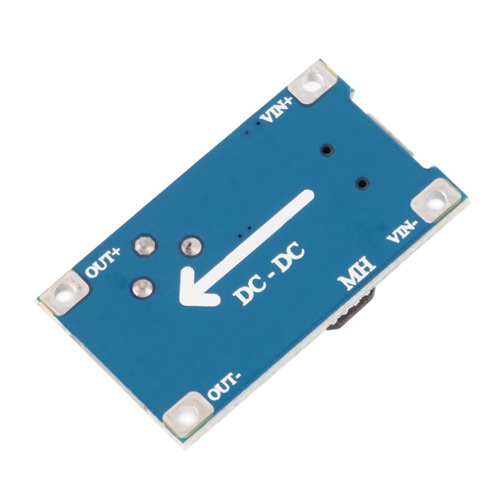 2A DC-DC Boost Step up Conversion Module MicroUSB 2V-24V to 5V-28V 9V 12V 24V