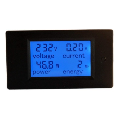 AC 80-260V 100A PZEM-061 LCD Display Digital Current Voltage Multimeter with Current Transformer CT