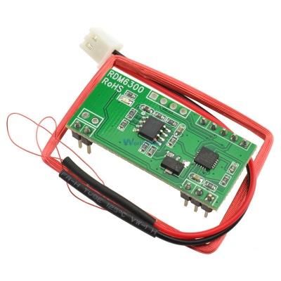 125 KHZ EM4100 RFID Card Read Module RDM630 (UART) Compatible Arduino