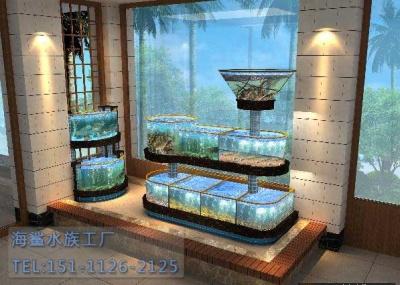 长沙市场海鲜池