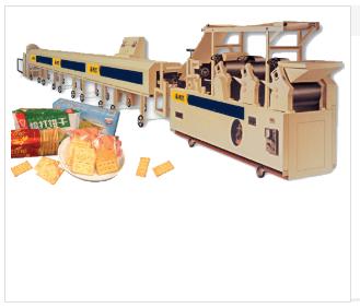 饼干生产线(滚切、滚印两用)