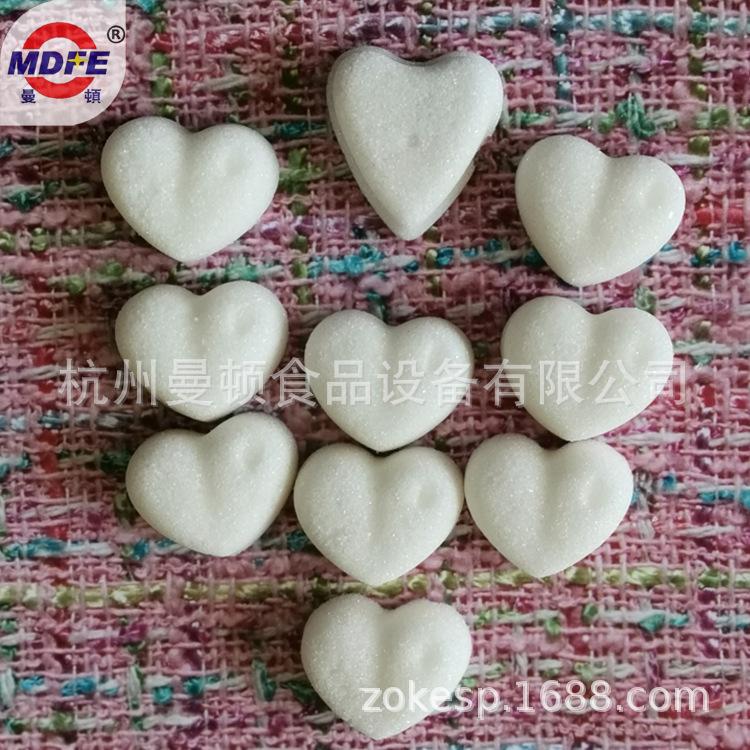 【厂家】花型蔗糖成型设备 立体心形方糖生产线 咖啡奶茶调糖机