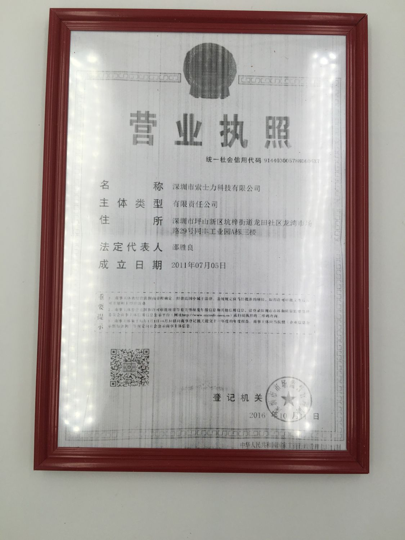 SOSLLI Business License