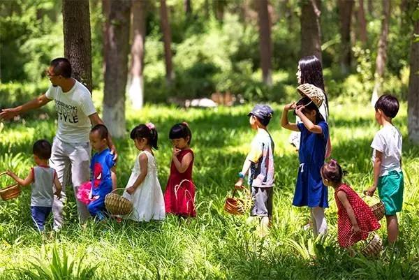 亲子农庄的生产与亲子教育