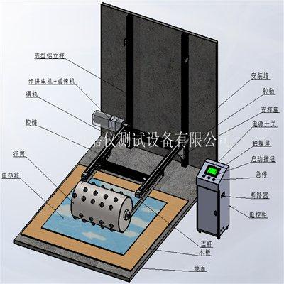 电热毯滚压强度试验机 JAY-5245