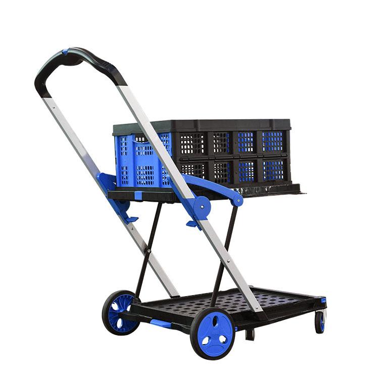 雙層車+塑料籃套裝CIG-T1