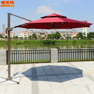 AMT愛美特戶外遮陽傘羅馬傘圓形3米