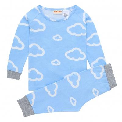 AW1912 Baby Boys Cloud Pyjama Set - Blue
