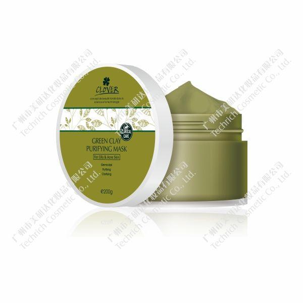 绿土控油深层清洁面膜