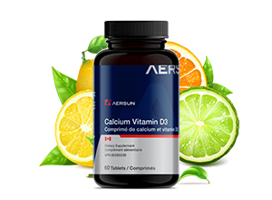 Calcium Vitamin D3 Tablet 钙片+维D