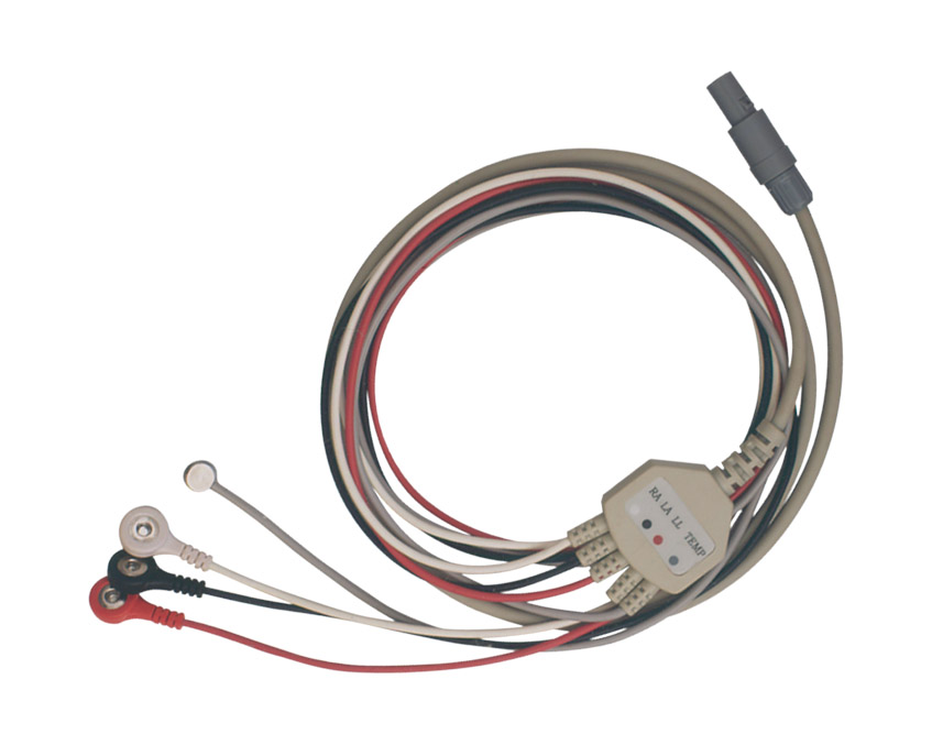 3 Leads ECG cable